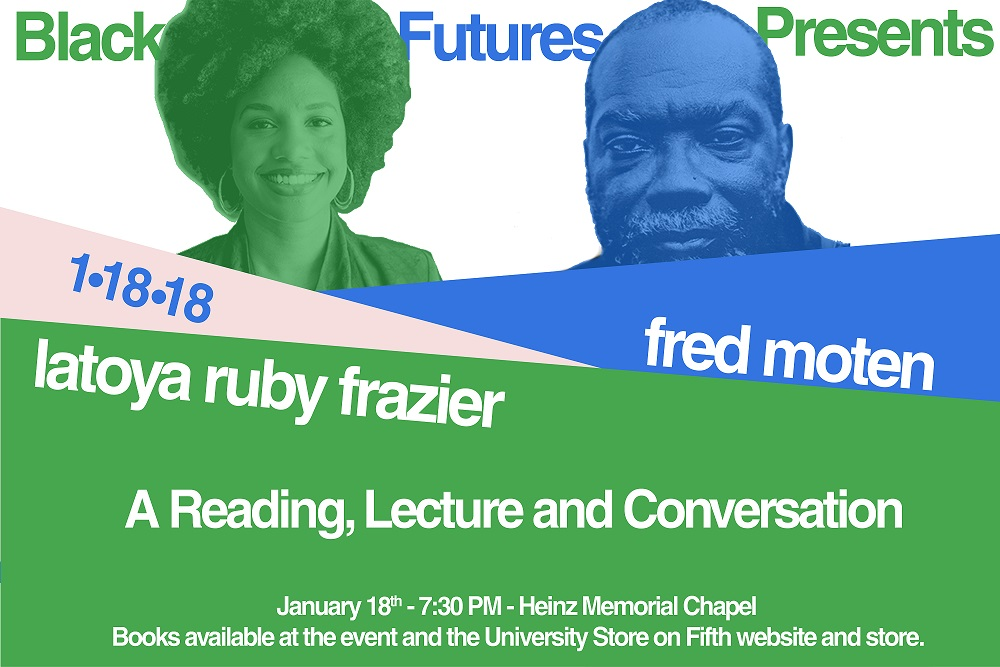 Black Future Presents: A reading , lecture and conversation. 1/18/18