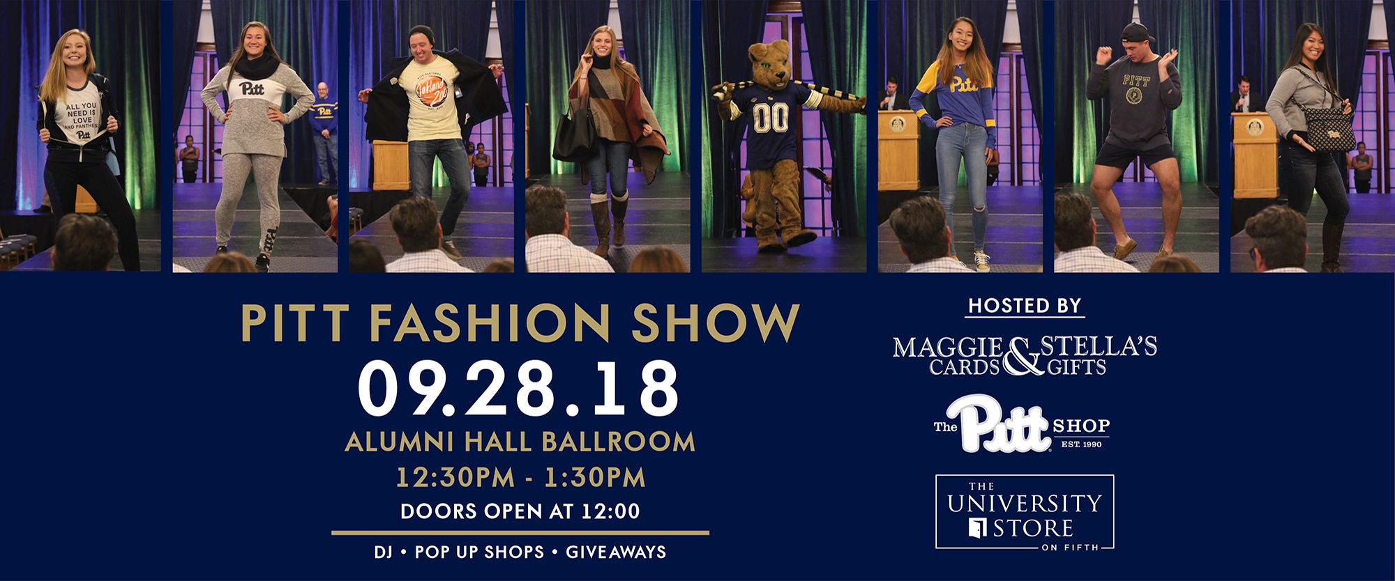 Pitt Fashion Show September 28