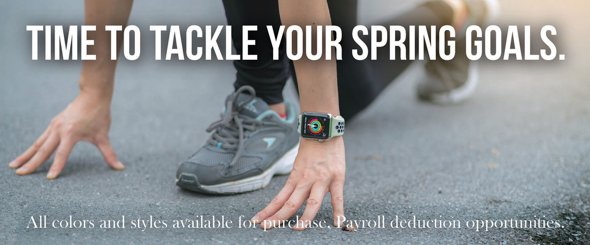 tackle your spring goals with an apple watch