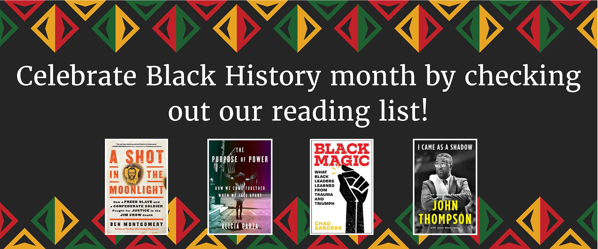 celebrate black history month with our reading list