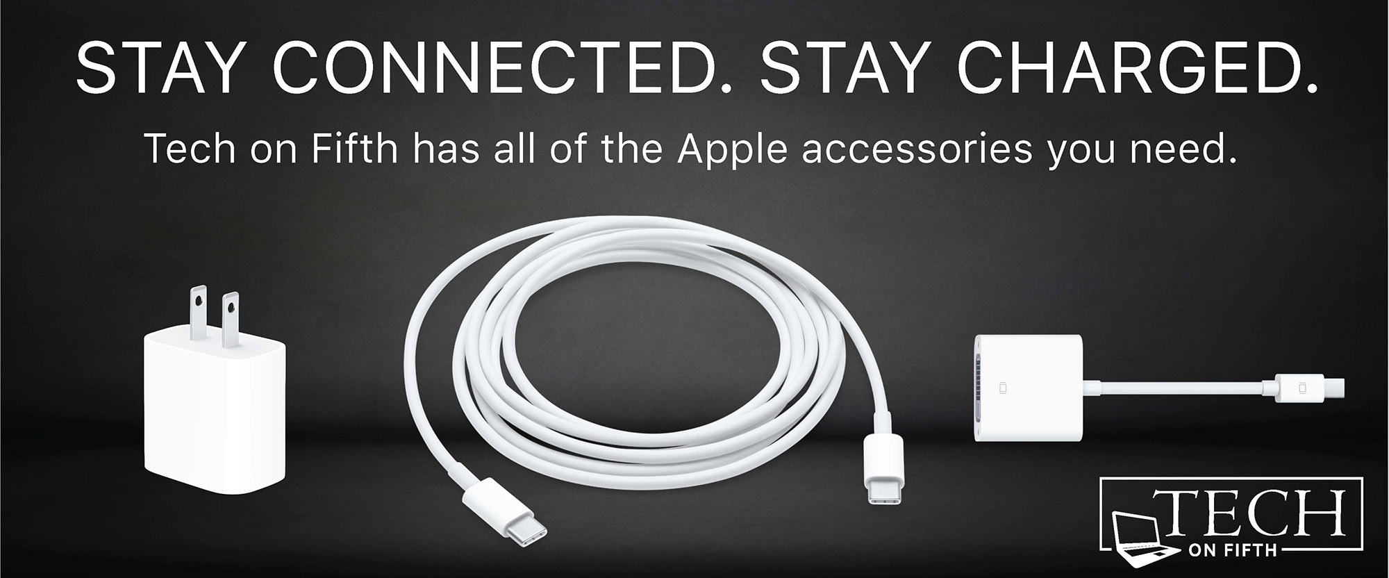 get connected with apple accessories