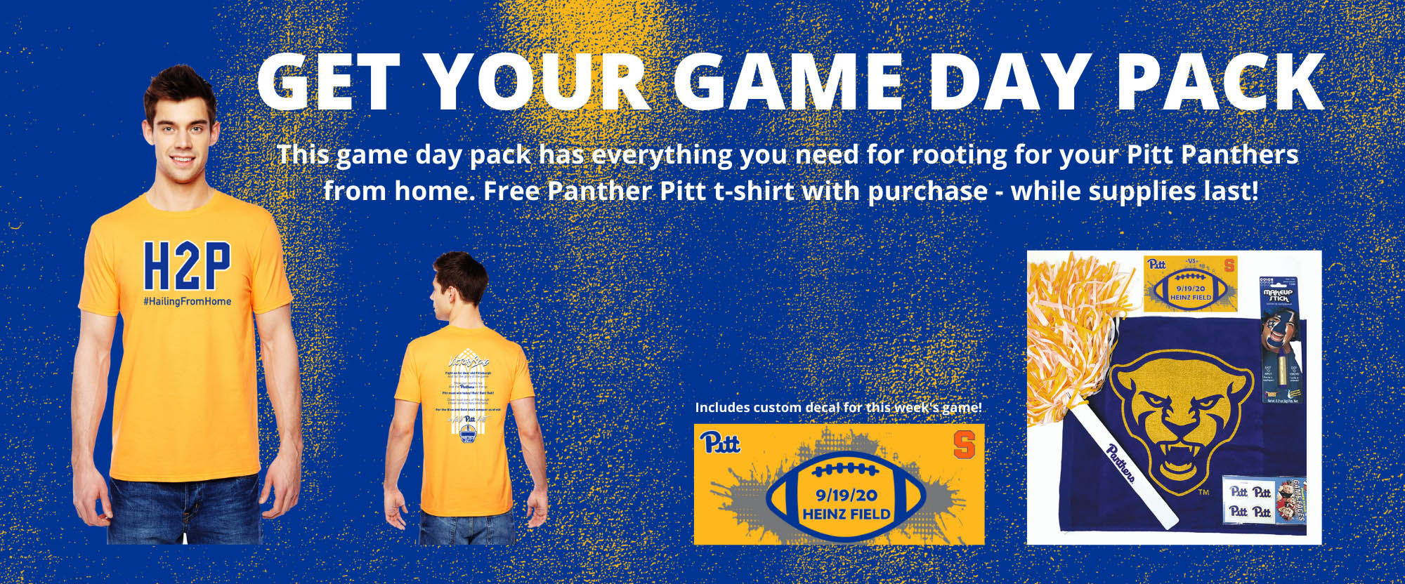get your gameday pack