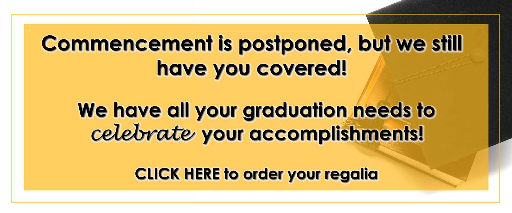 commencement postponed