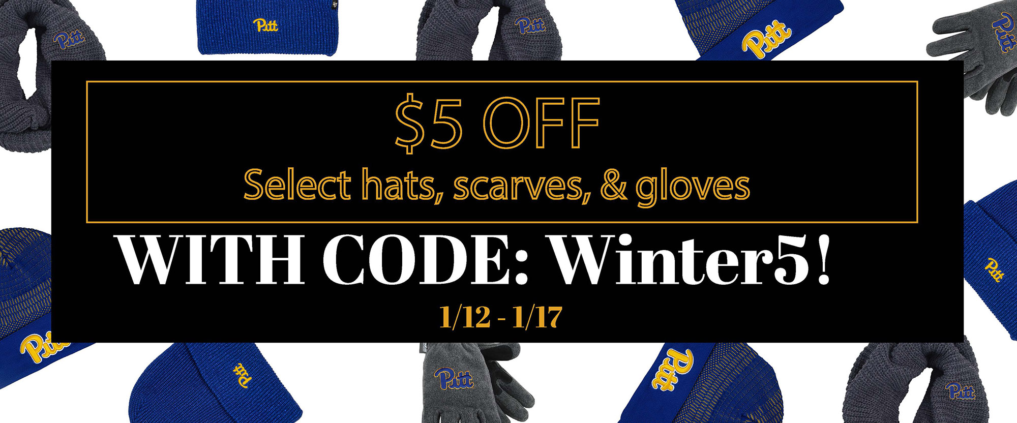 save on cold weather accessories