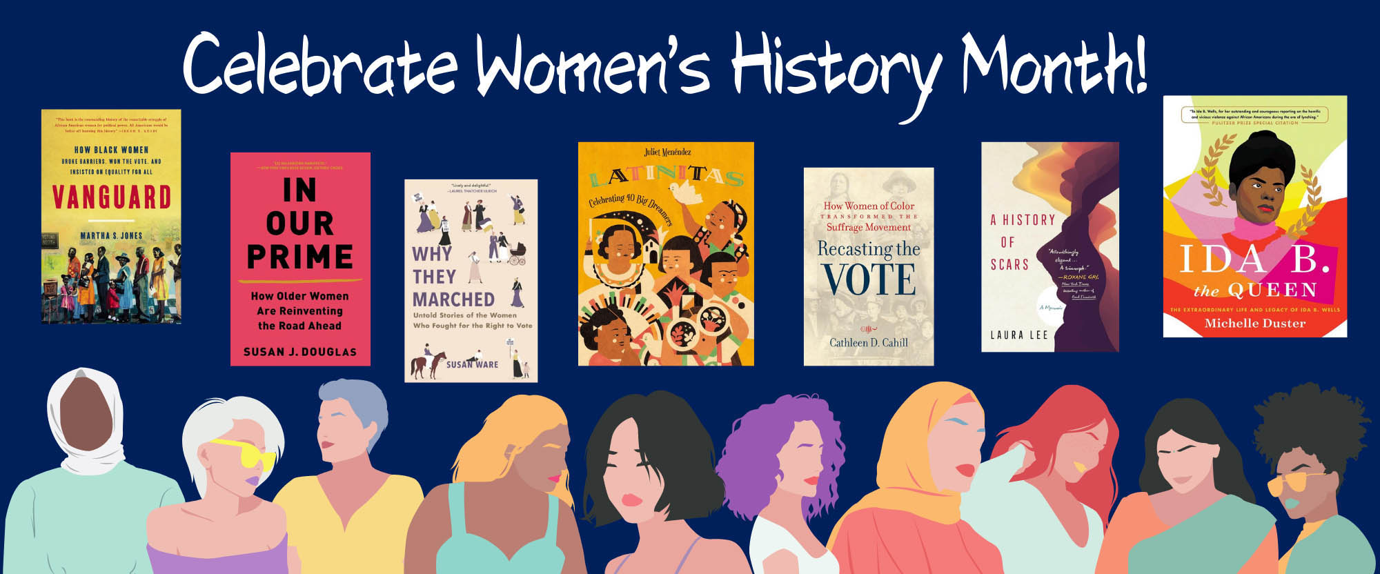 celebrate women's history month with our reading list