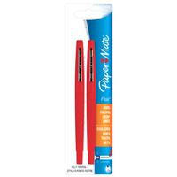PEN FLAIR RED 2CT