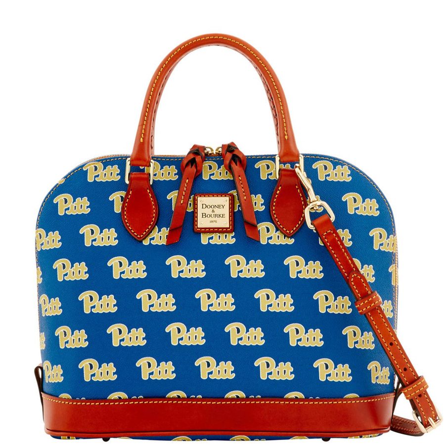 Dooney & Bourke Pitt Script Zip Zip Satchel