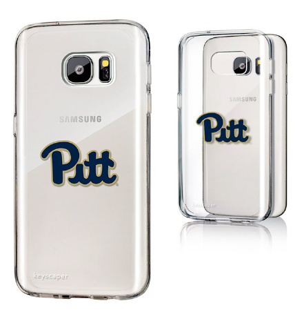 GALAXY S7 SLIM SERIES CLEAR PITT SCRIPT CASE