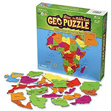 GEOTOYS GEOPUZZLE AFRICA