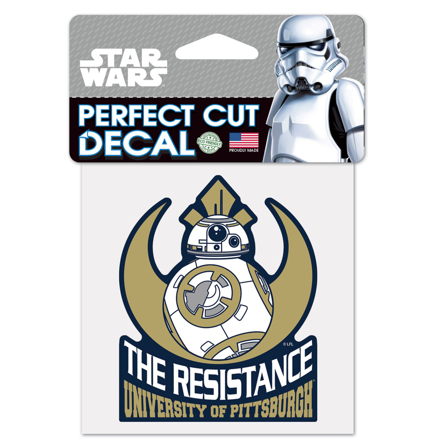 University of Pittsburgh BB8 Star Decal