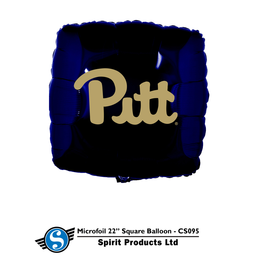 Spirit Products Pitt Square Foil Balloon