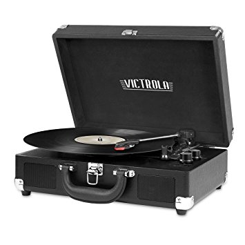 Victrola Turntable w/ Bluetooth Connection - Black