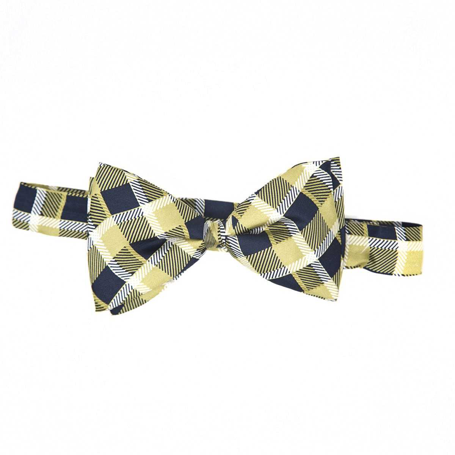 Jardine Men's Pitt Custom Plaid Bowtie