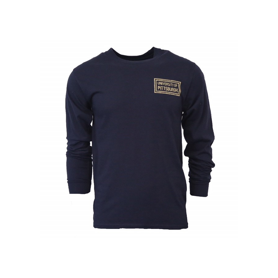 Champion Men's University of Pittsburgh Long Sleeve T-Shirt