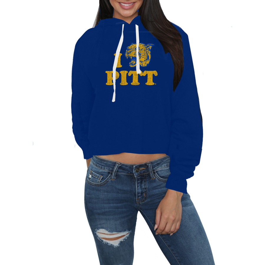 Retro Brand Ashley Cropped Hoodie