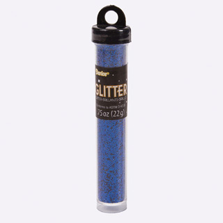 Darice 3/4 Oz. Craft Glitter Tube - Blue
