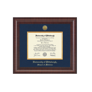 Image For Diploma Frame Gold Engraved Presidential