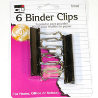 Image For BINDER CLIPS SMALL 6CT