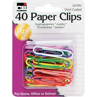 Image For PAPER CLIPS JUMBO 40/C