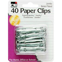 Image For PAPER CLIPS JUMBO NICK