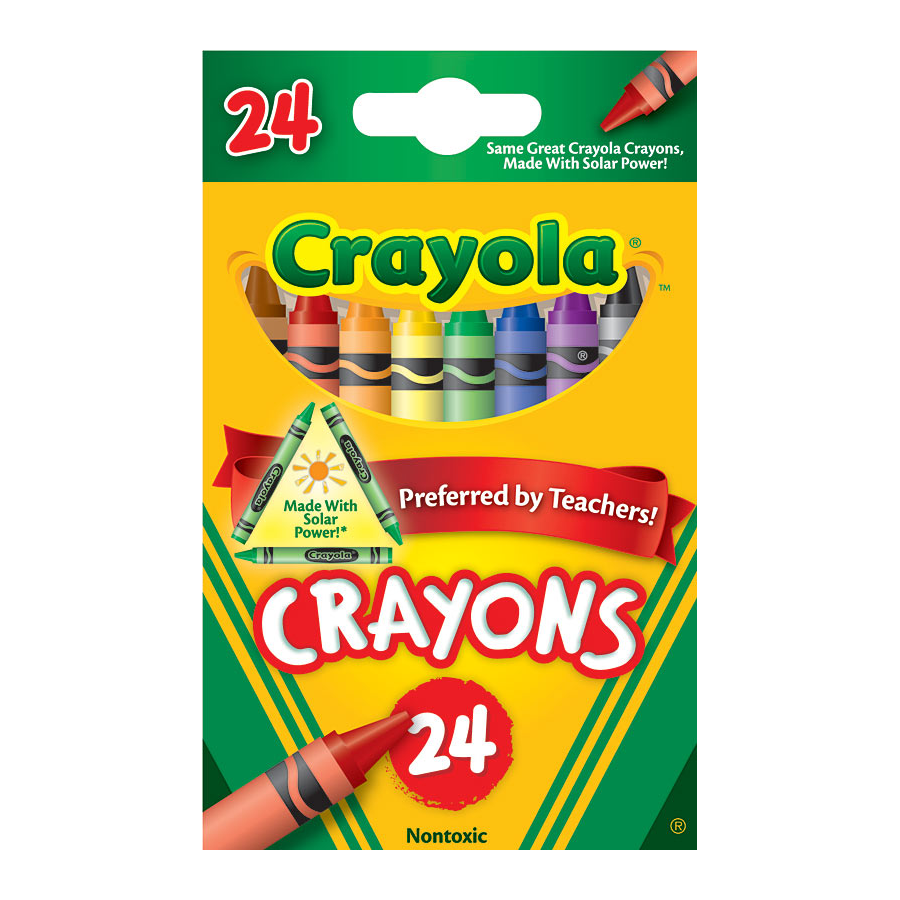 Image For Crayola Crayons 24 CT