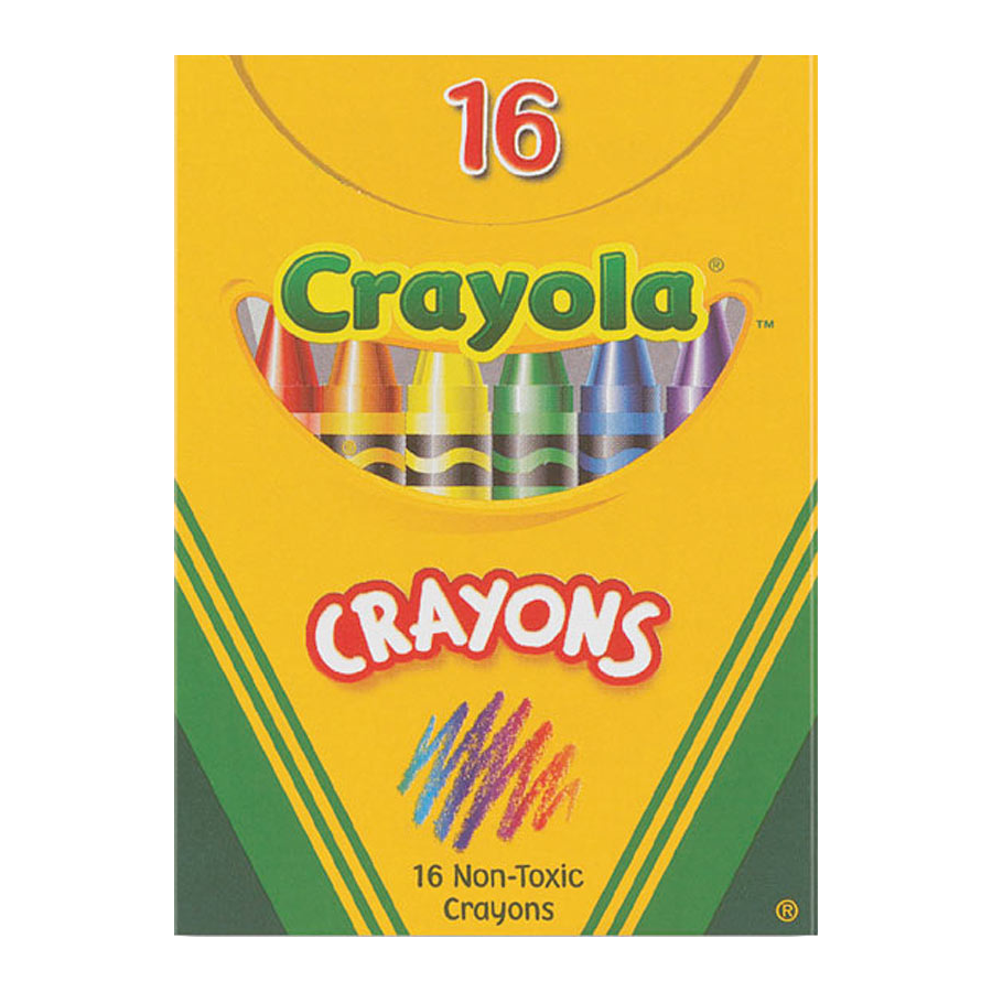 Image For Crayola Crayons 16 CT