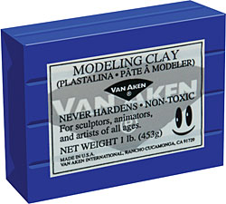Image For Modeling Clay 1LB Green