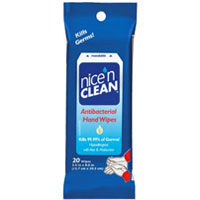 Image For face wipe NICE N CLEAN AN