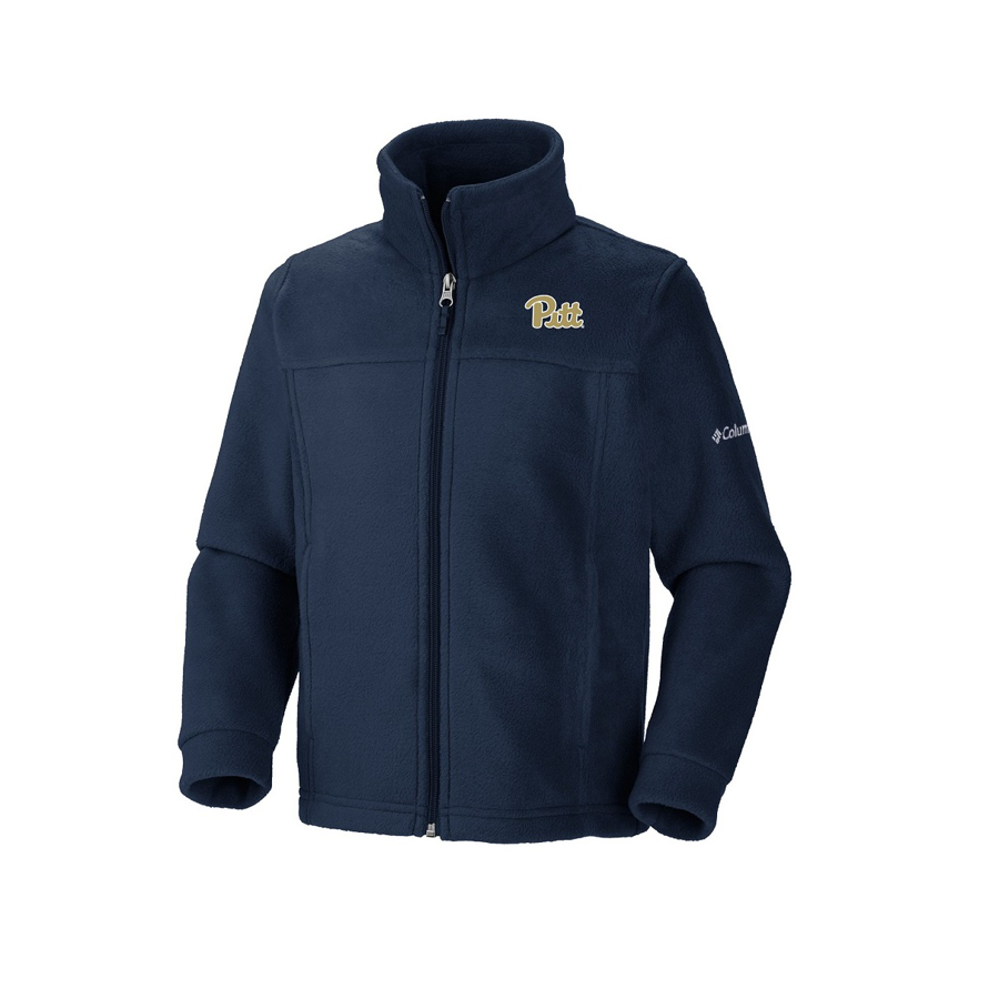 Image For Columbia Youth's Pitt Full-Zip Fleece