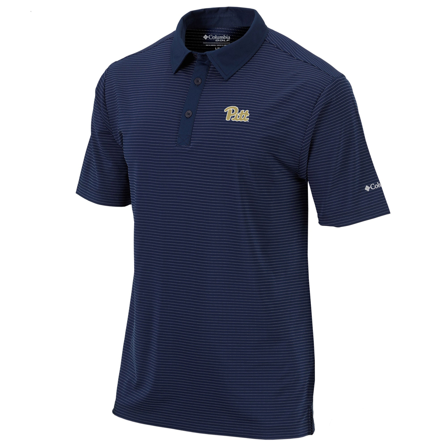 Image For Columbia Men's Omni Wick Sunday Golf Polo Shirt