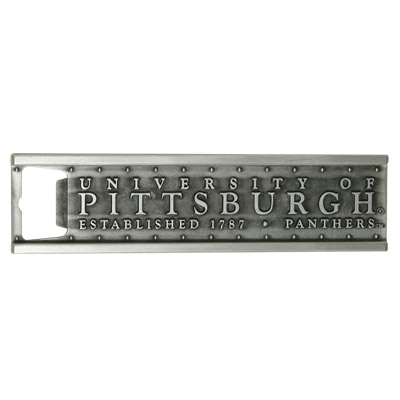 Image For Spirit Products University of Pittsburgh Bottle Opener