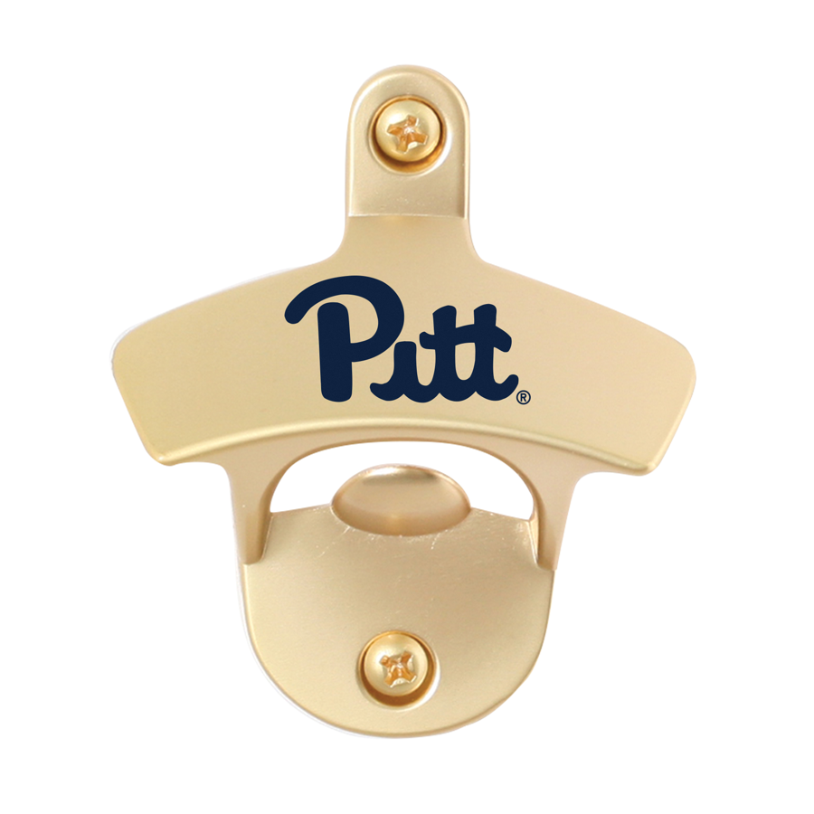 Image For Spirit Products Pitt Script Wall Mounted Bottle Opener