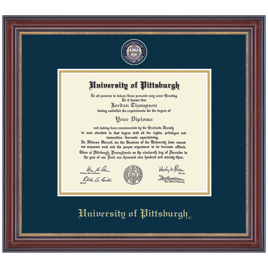 Image For Masterpiece Medallion Diploma Frame in Kensington