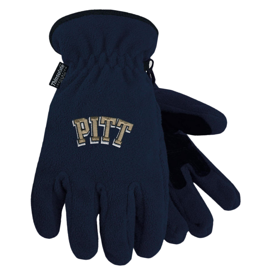 Image For LogoFit Peak Pitt Logo 3M Thinsulate Gloves