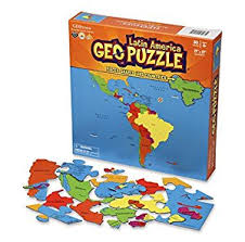 Image For GEOPUZZLE LATIN AMERICA
