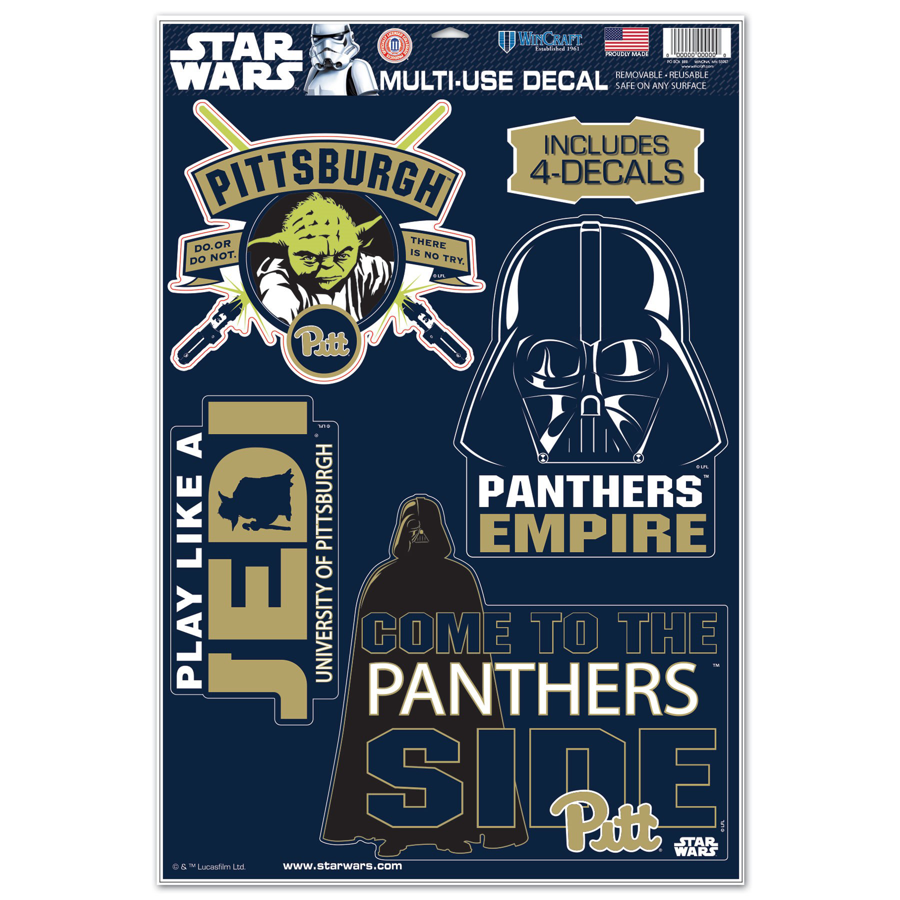 Cover Image For University of Pittsburgh Star Wars Decals