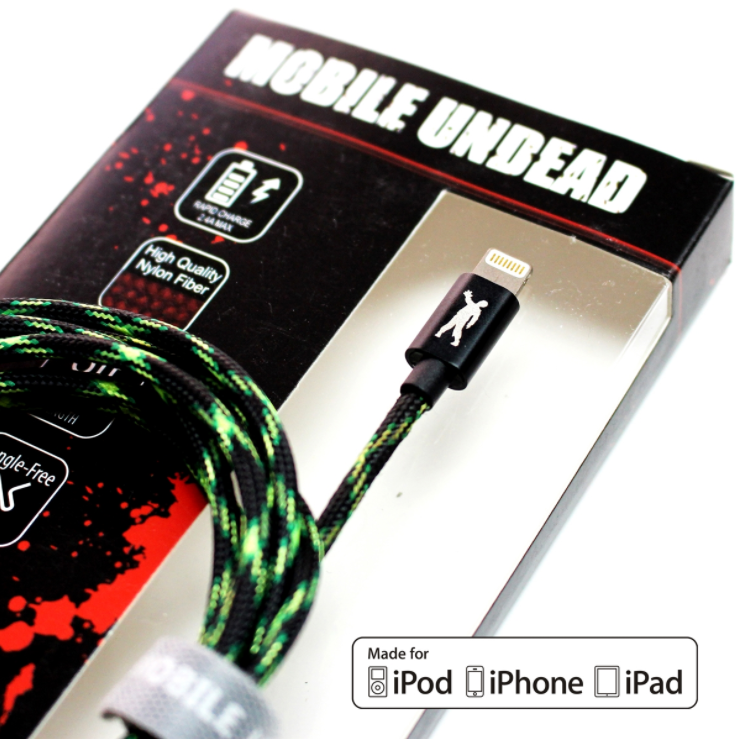 Image For Mobile Undead USB to Lightning - 5FT Zombie