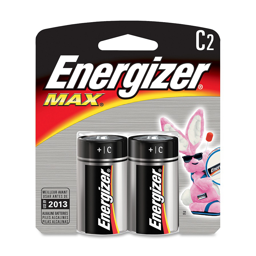 Image For Duracell Batteries C 2-Pack