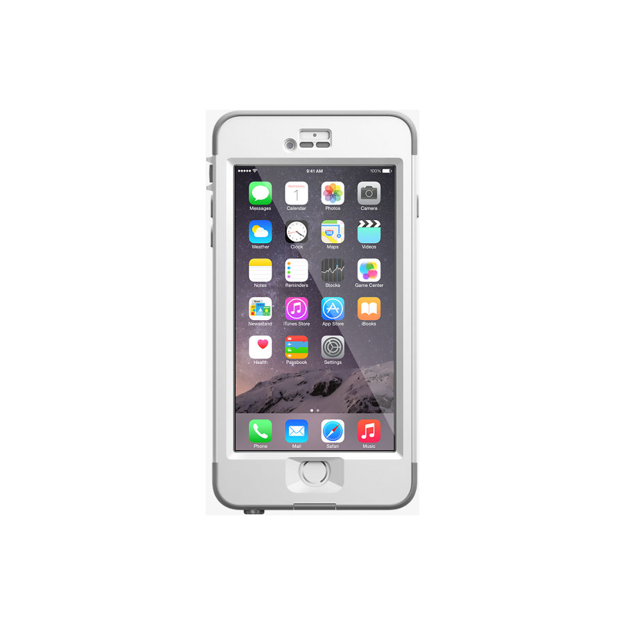 Image For Lifeproof Nuud iPhone 6 Plus Case - Clear White