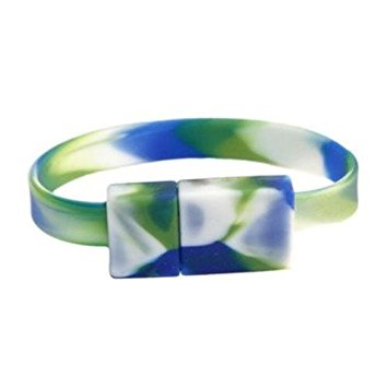 Image For OnHand USB Wristband 8GB - Rainforest