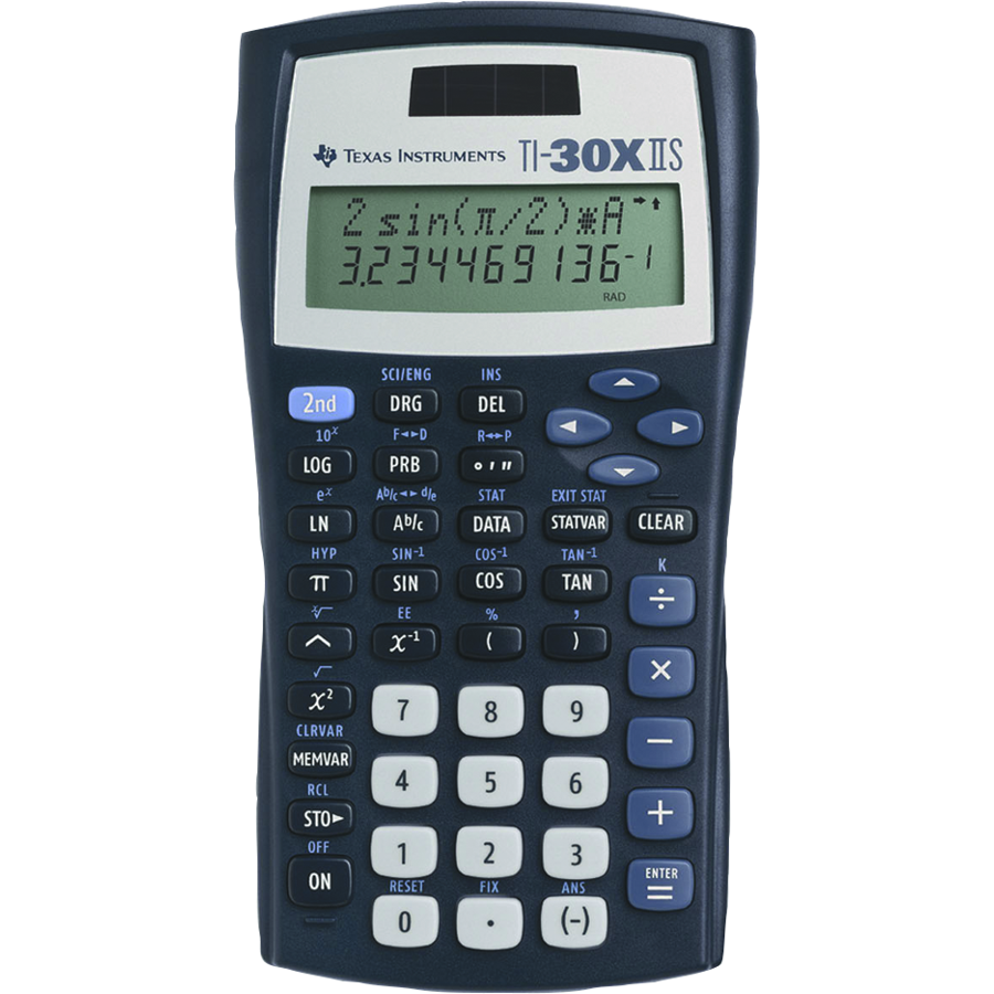 Image For CALCULATOR TI30XIIS