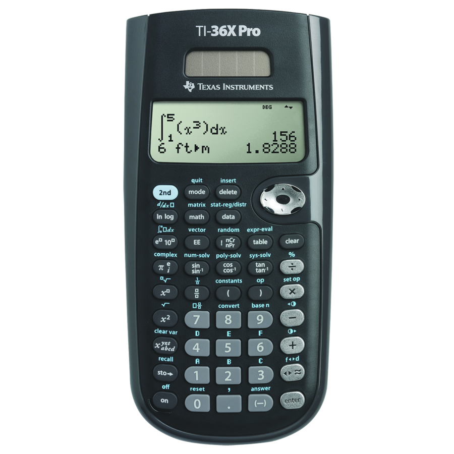 Image For CALCULATOR TI36X SOLAR