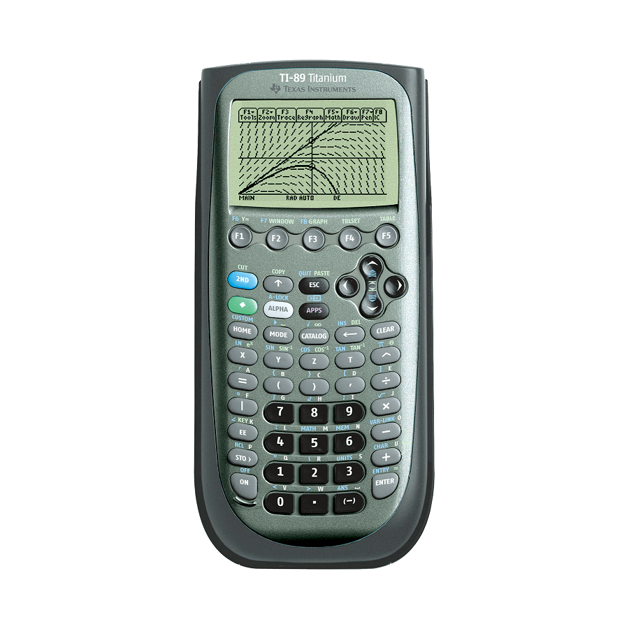Image For CALCULATOR TI89 TITANIUM