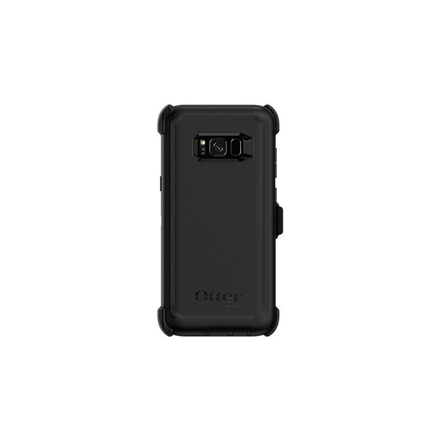 Image For Otterbox Defender Case w/ Holster for Galaxy S8+ - Black