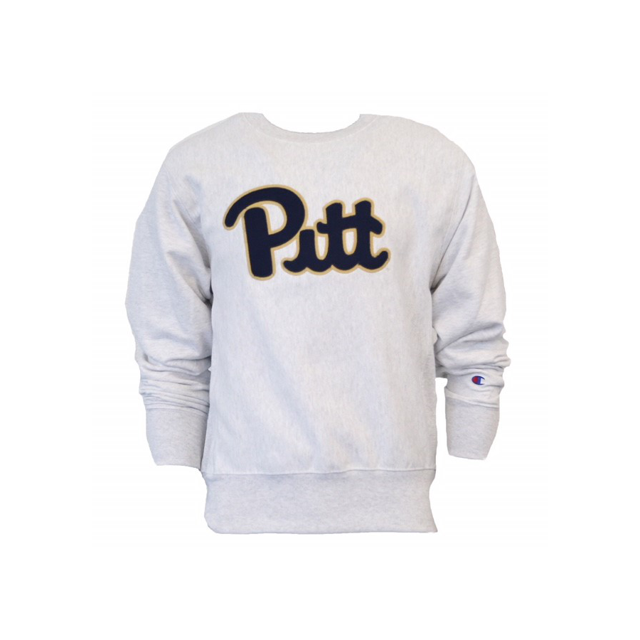 Image For Champion Unisex Pitt Logo Sweatshirt
