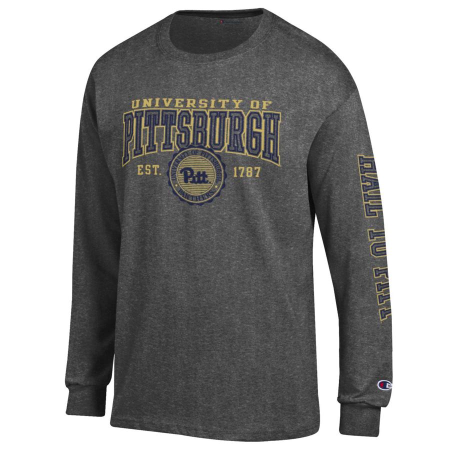 d98d371a6e70 Champion Men s University of Pittsburgh Long Sleeve T-Shirt