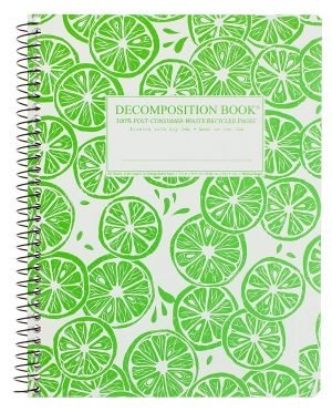 Image For Michael Roger's Spiral Bound Notebook - Limes