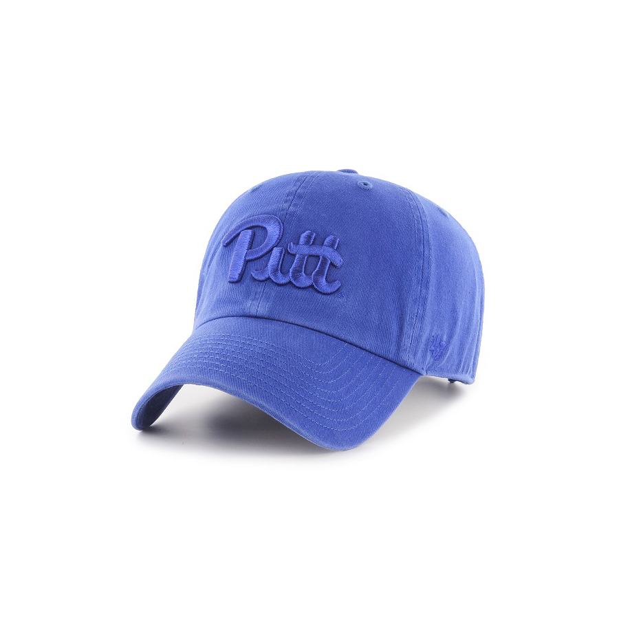 Image For 47 Brand Adult's Pitt Clean Up Hat - Royal Blue