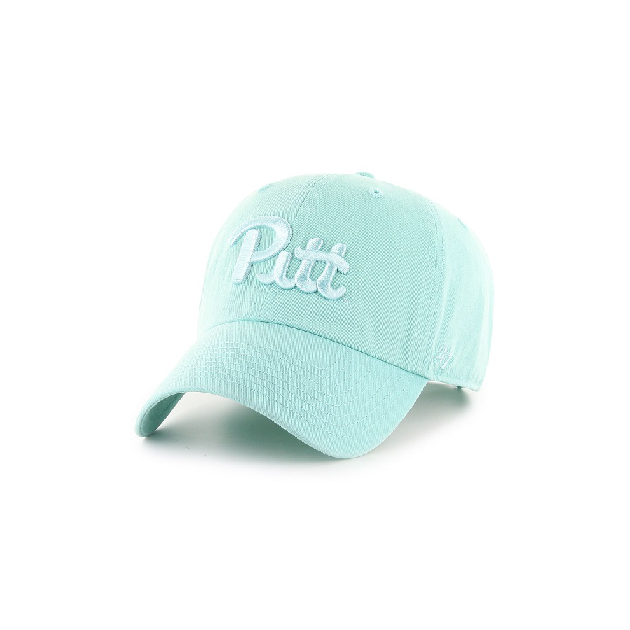 Image For 47 Brand Adult's Pitt Clean Up Hat - Tiffany Blue