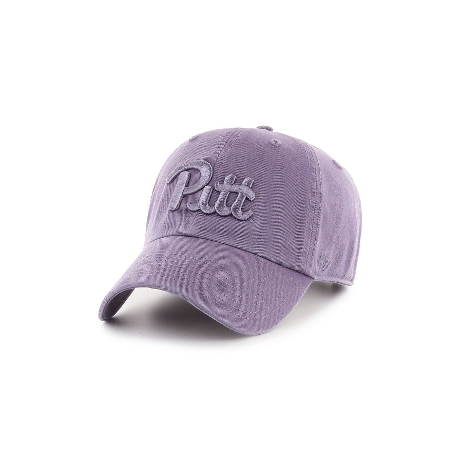 Image For 47 Brand Adult's Pitt Clean Up Hat - Iris Purple